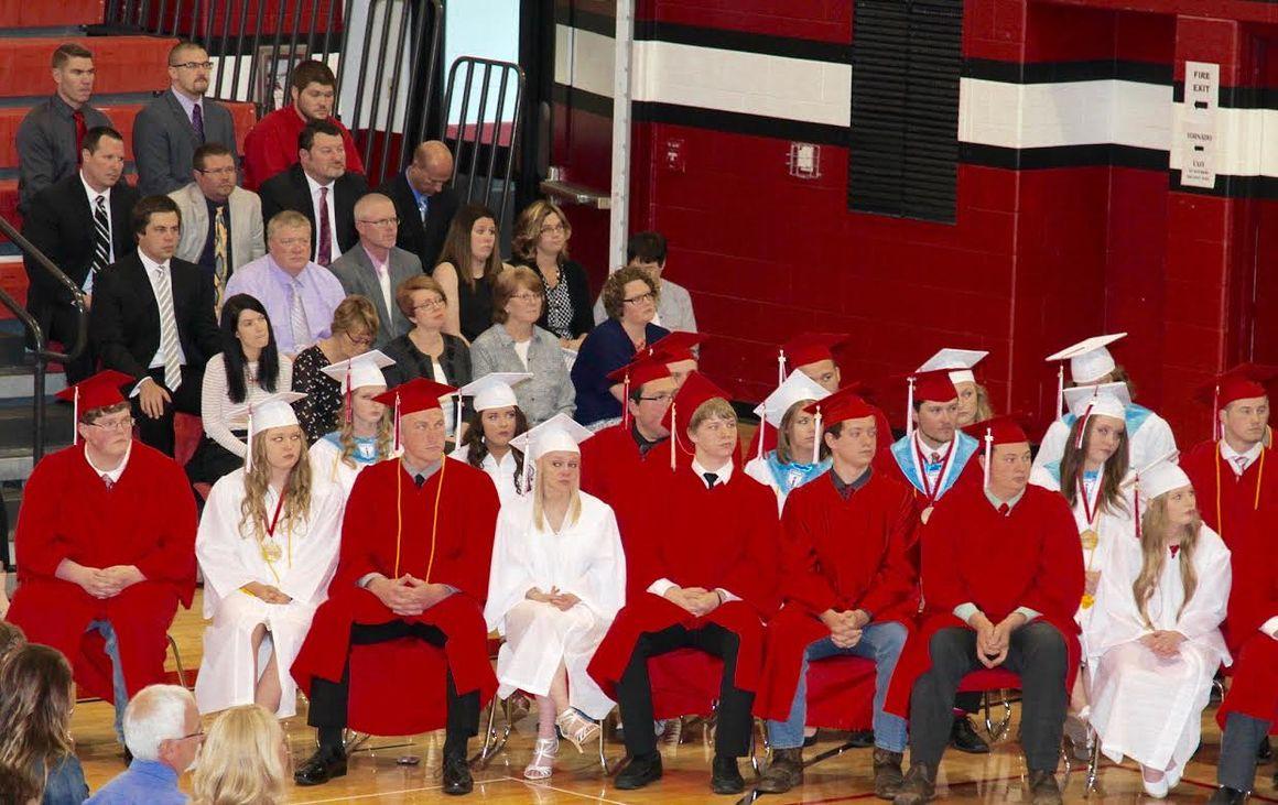 Class of 2017 graduates from Erie High School