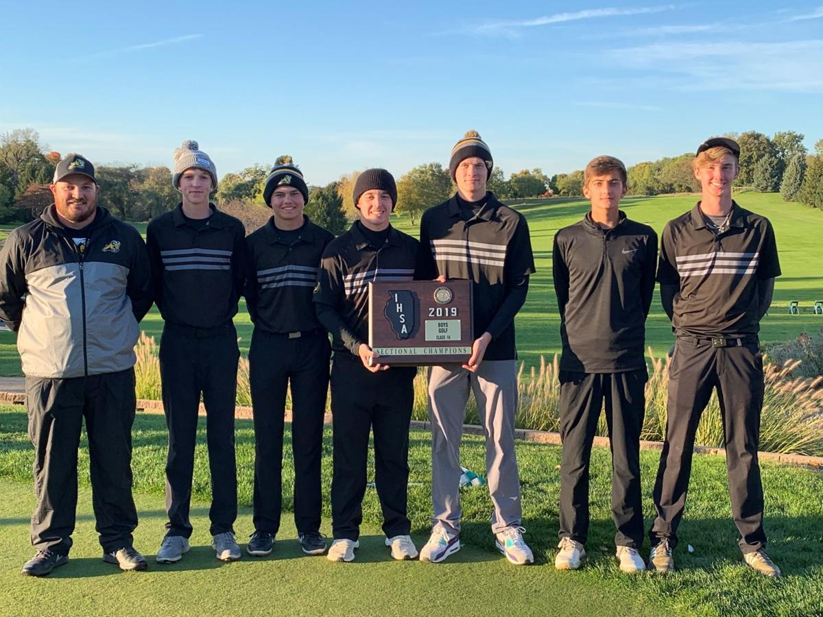 Riverdale boys golf sectional title