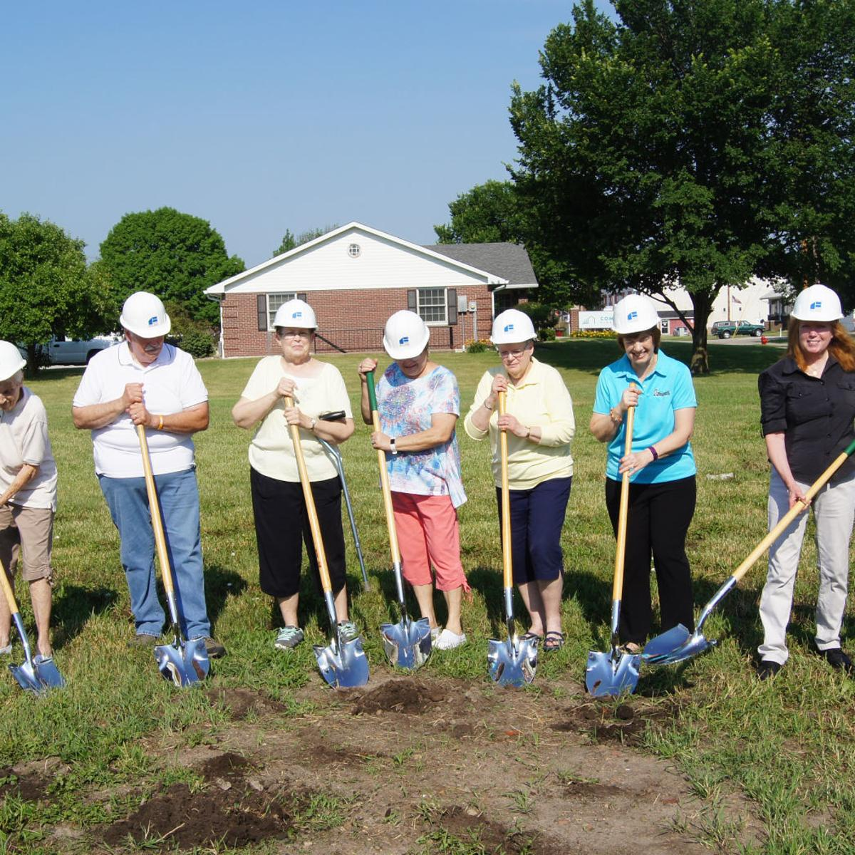 Groundbreaking for Mercer County's new library | Local | qconline com