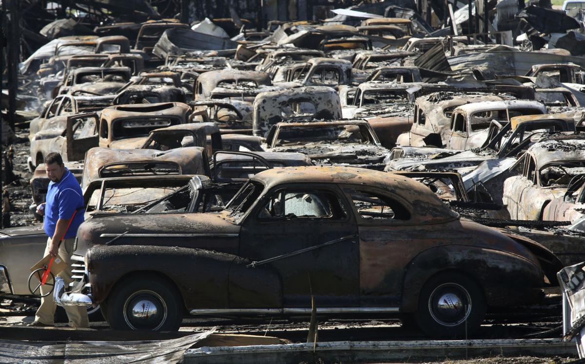 Dozens Of Antique Vehicles Destroyed By Overnight Fire Illinois