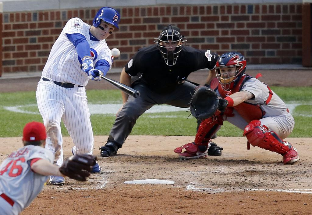 Cubs top Cards 6-4 to win playoffs