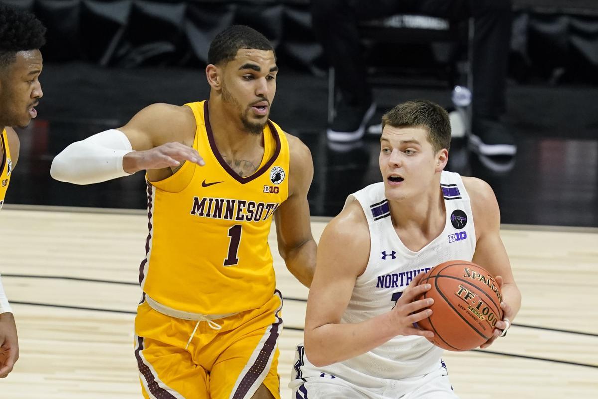 B10 Minnesota Northwestern Basketball