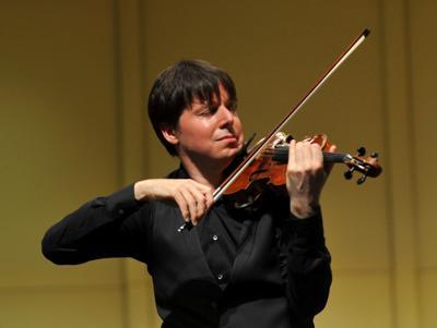 Internationally known violinist serenades Q-C