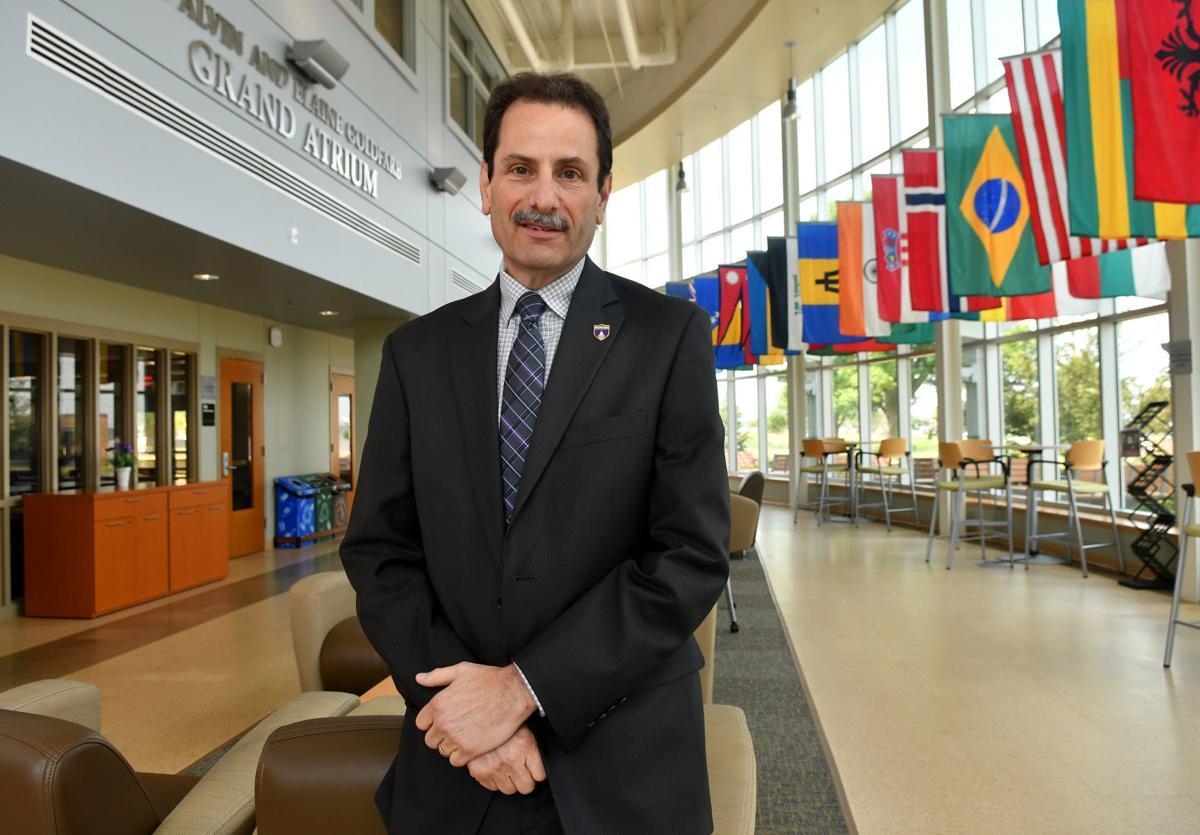 Acting President of Western Illinois University Martin Abraham.