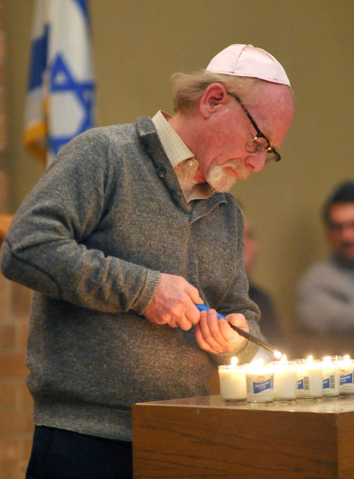 Memorial service Tri City Jewish Center