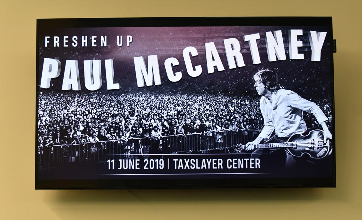 Bildresultat för TaxSlayer Center and Paul McCartney