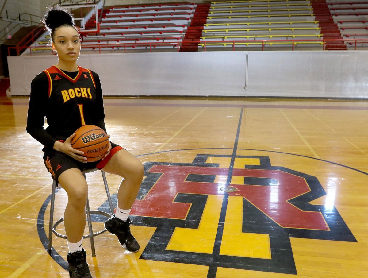 All-metro girls basketball captain Brea Beal     qconline com