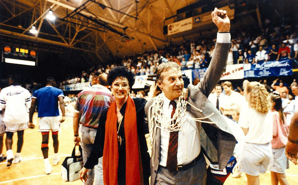 Mauro Panaggio and Anne Potter DeLong
