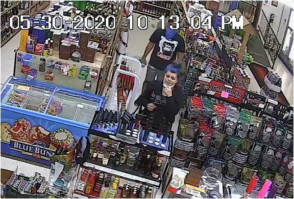 Liquor store theft