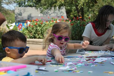 Kid's crafts at Fejervary Park