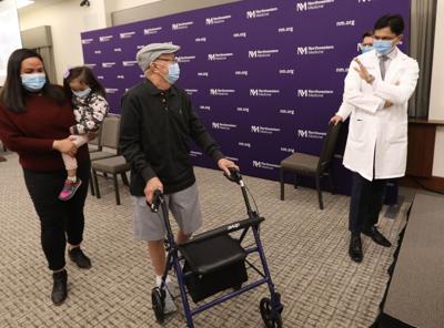 Double lung transplant patient Renato Aquino