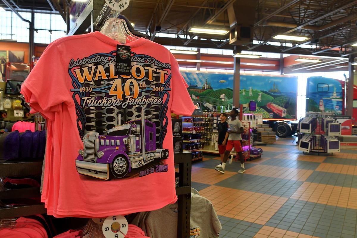 Iowa 80 Truckstop 40th anniversary Walcott Truckers Jamboree.
