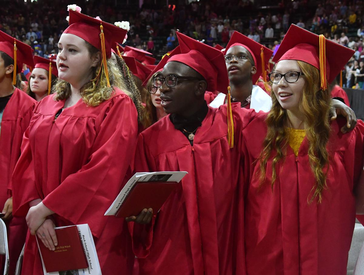 Rock Island High School Commencement