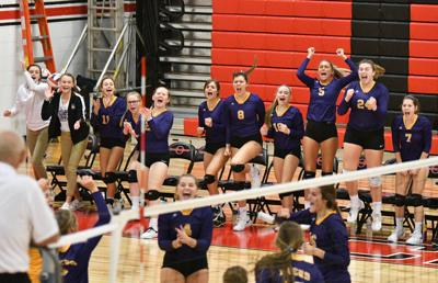 Class 2A Orion Volleyball Regional
