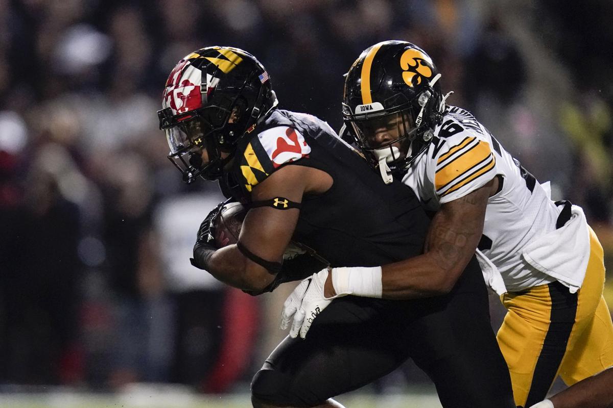 Iowa Maryland Football