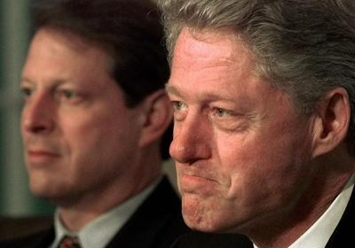 Clinton and Gore 1998