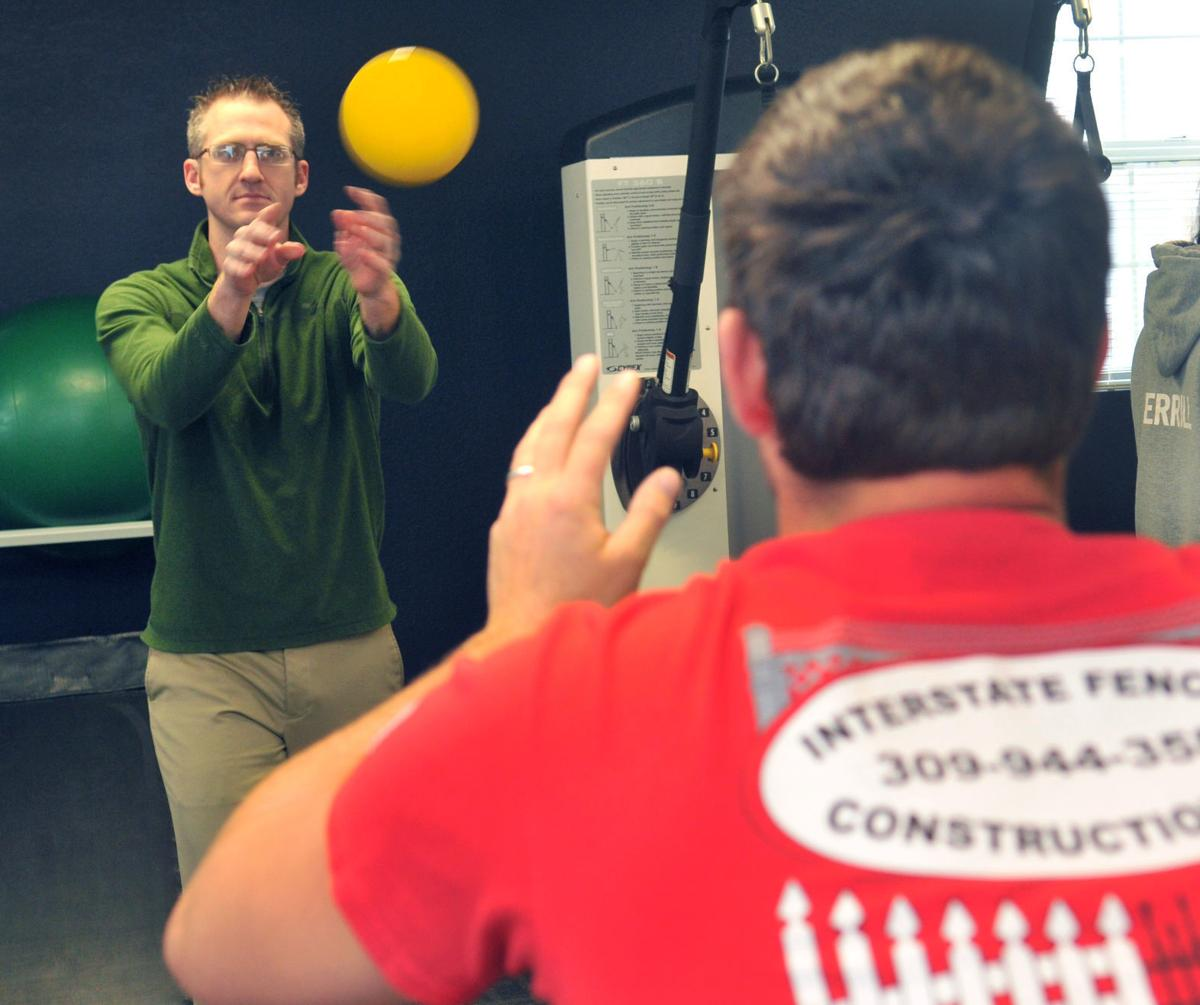 Progress: Physical Therapist Jon Swanson