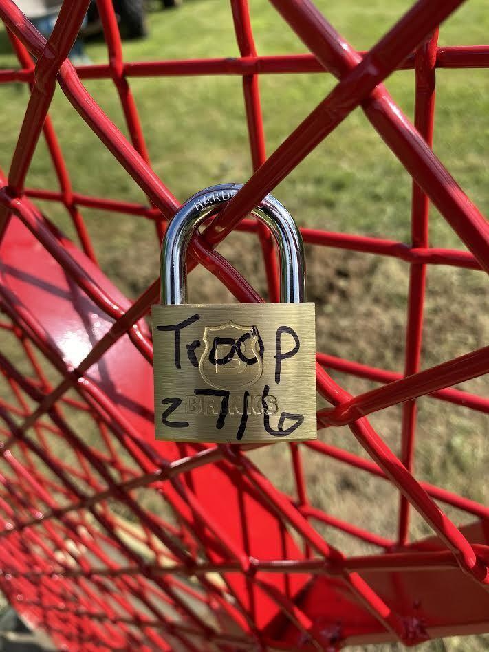love lock in Silvis