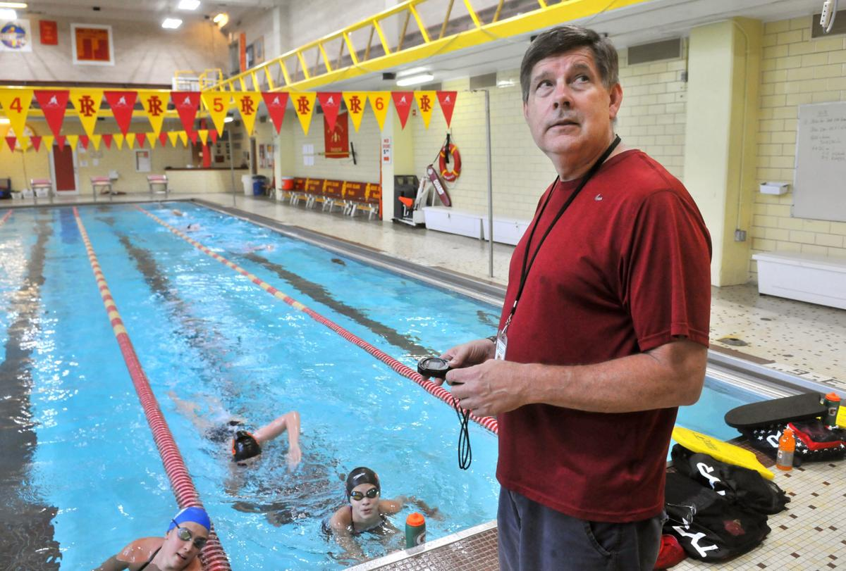Rock Island new swimming coach Dave Busch
