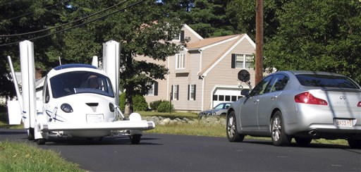 Paxton man helps create flying car