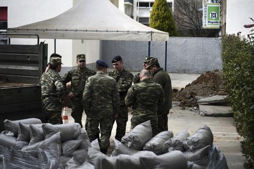 Greece WWI Bomb Evacuation
