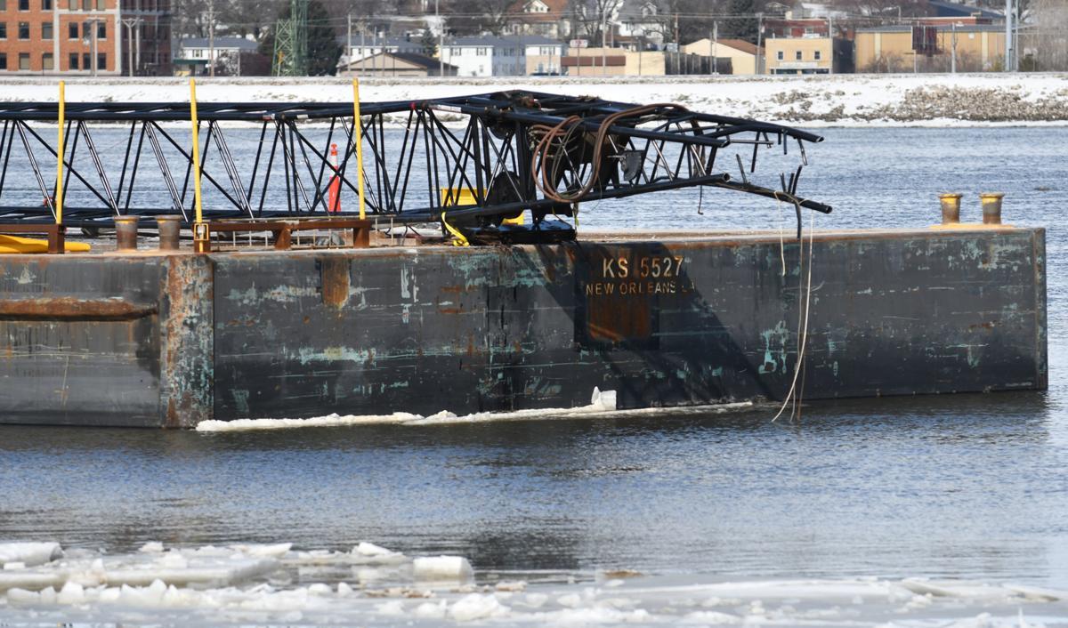 Crane boom accident at new I-74 bridge being investigated