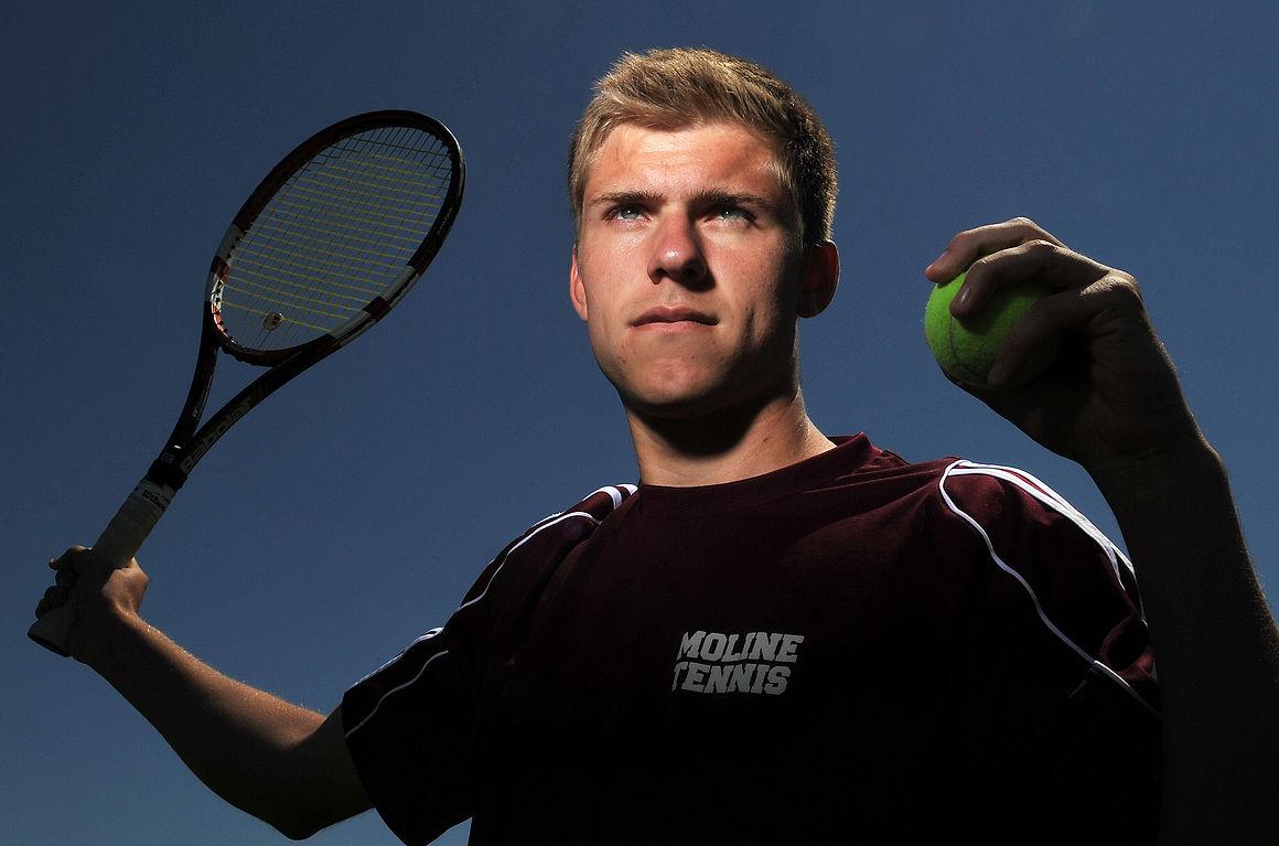 Johnson becoming Moline's tennis utility player | QC Prep ...