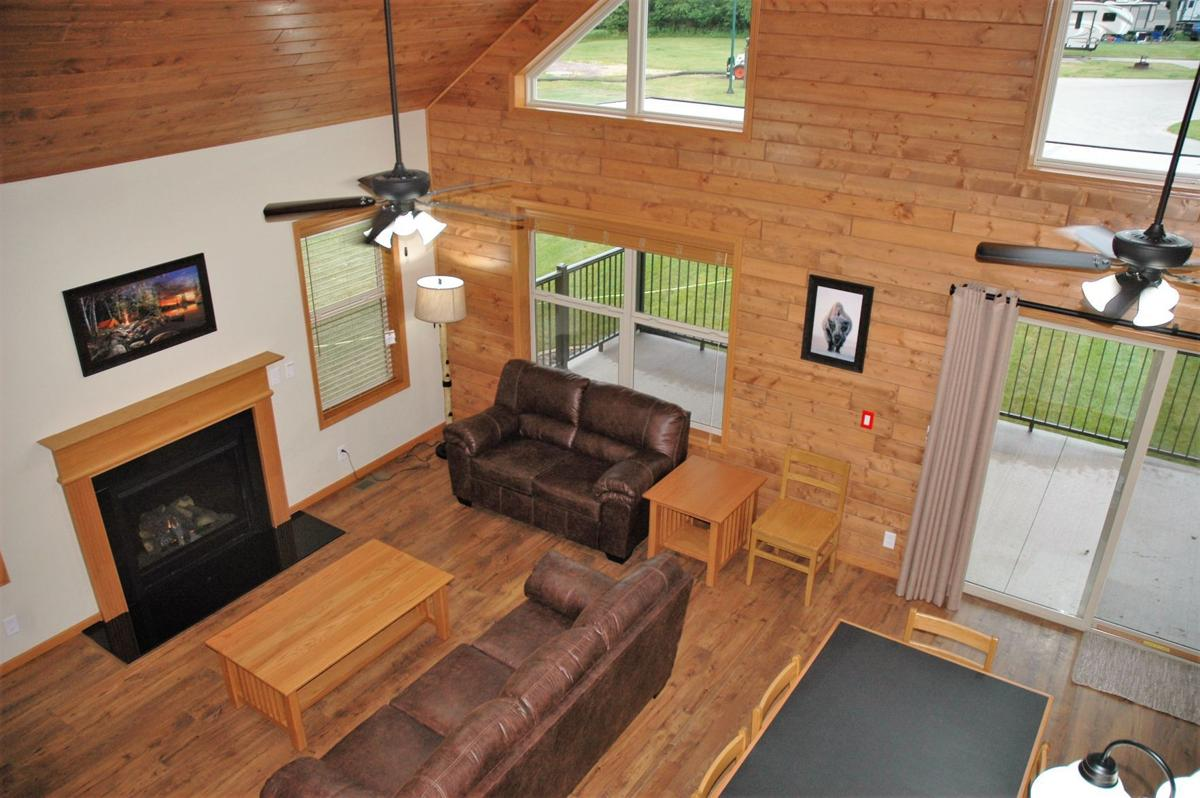 bald eagle cabin interior