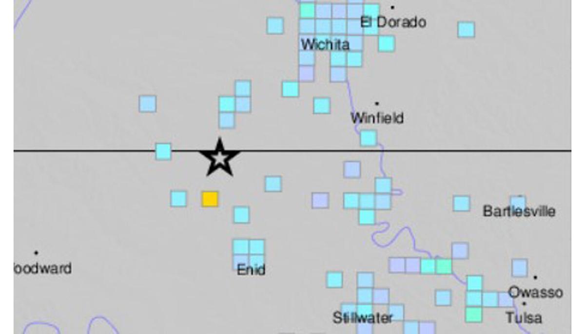 Quake in Oklahoma -Feb. 19, 2021