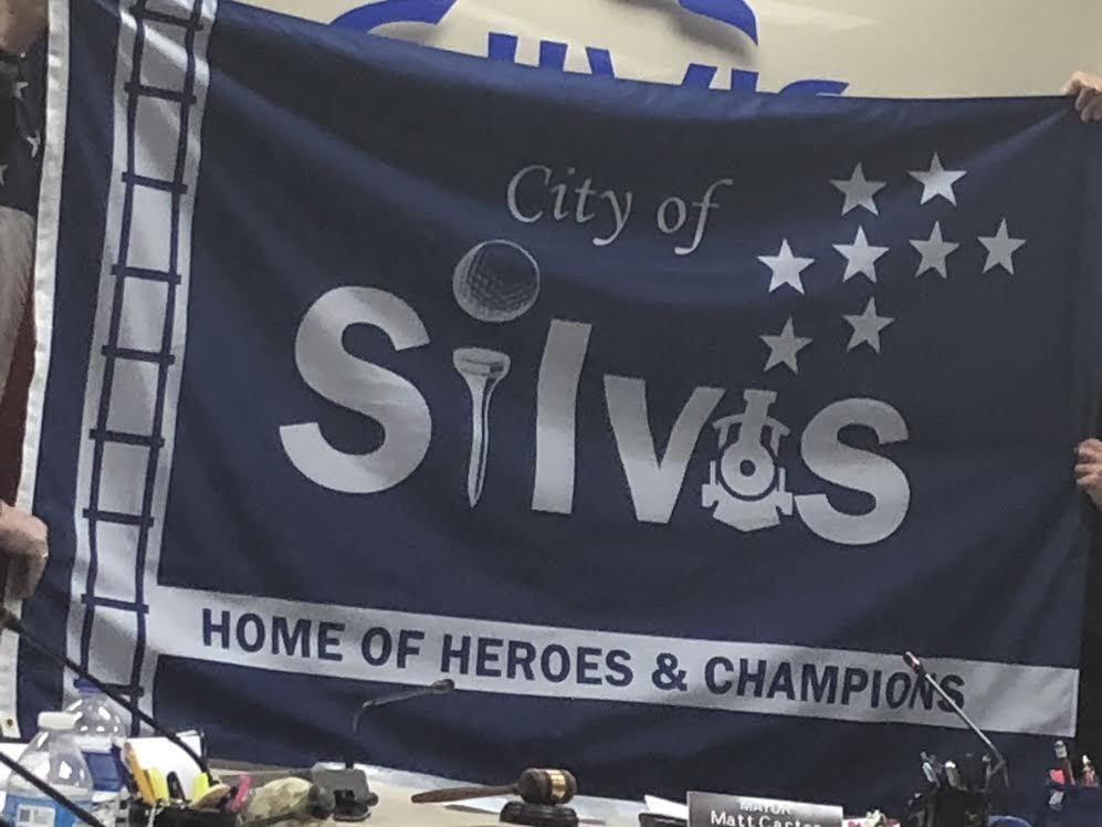 Silvis new flag