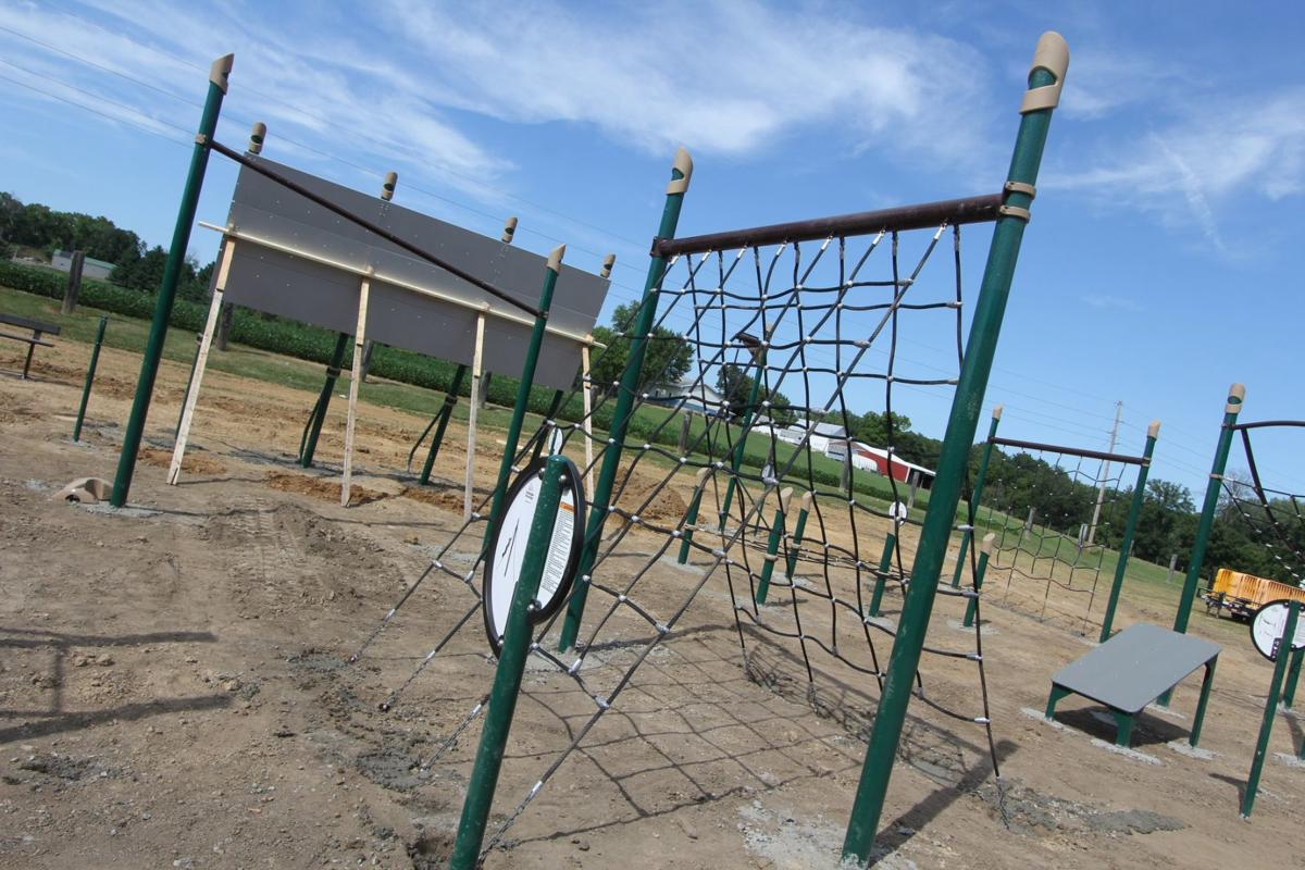 fitness site at Sunderbruch Park