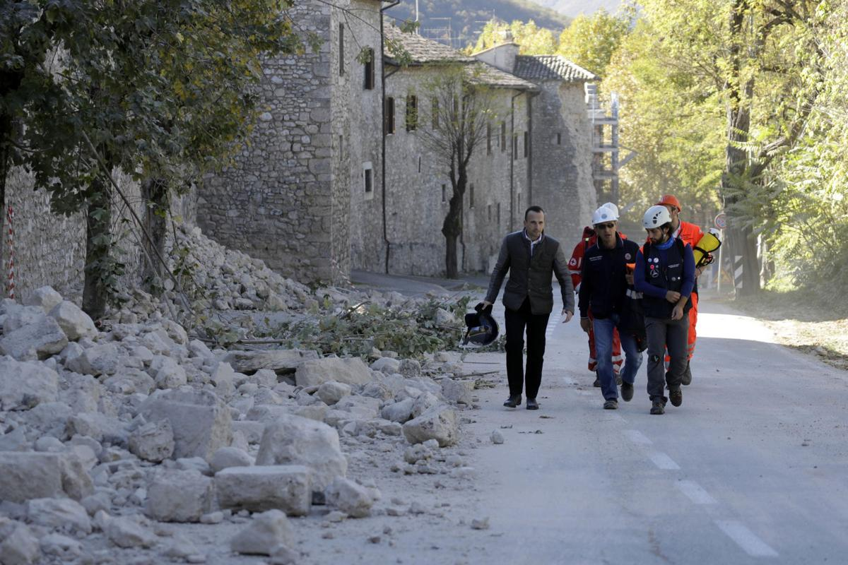 Powerful Quake Spares Lives But Strikes At Italy S