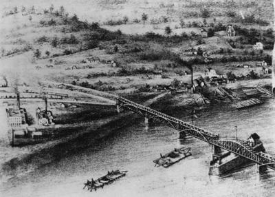 First Mississippi bridge opened 155 years ago, ushering in new era, new jobs