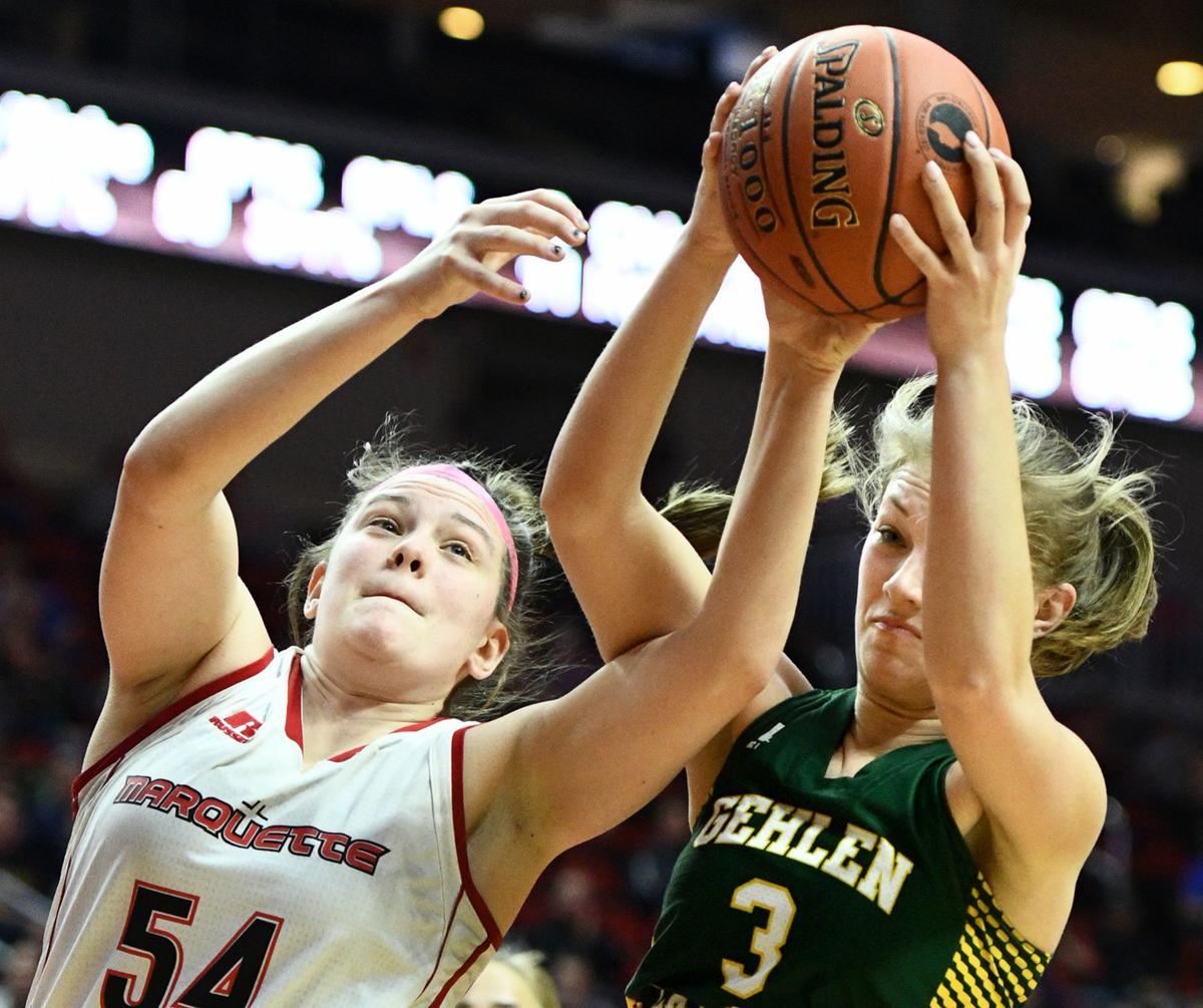 Gehlen Catholic vs Marquette Catholic state basketball