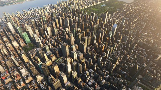 New York City as mapped by Bing
