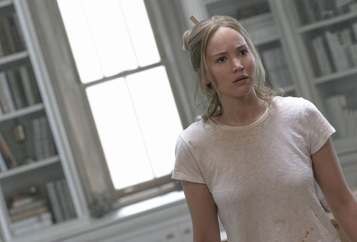 Jennifer Lawrence is pushed to the limit in'mother
