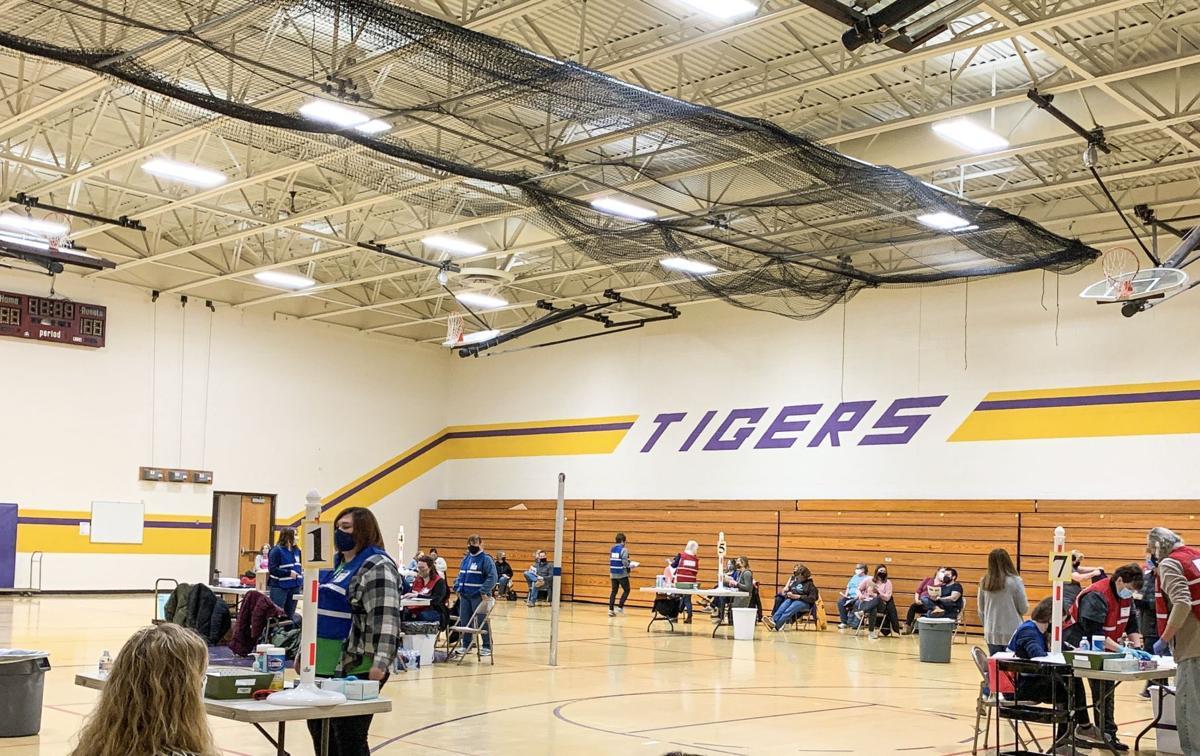 Sherrard teachers get second vaccinations