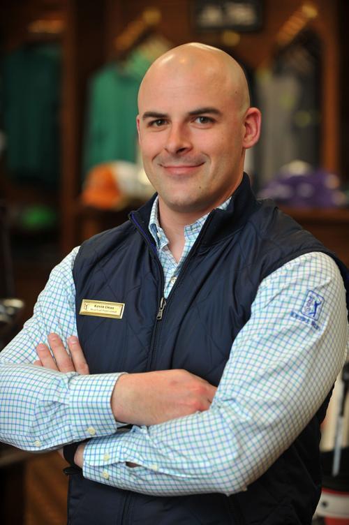 Kevin Dean new TPC Deere Run head golf professional
