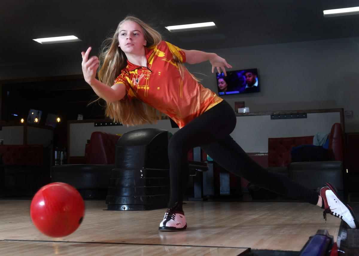Metro Pacesetter is Rock Island girls bowler Heather Motley.