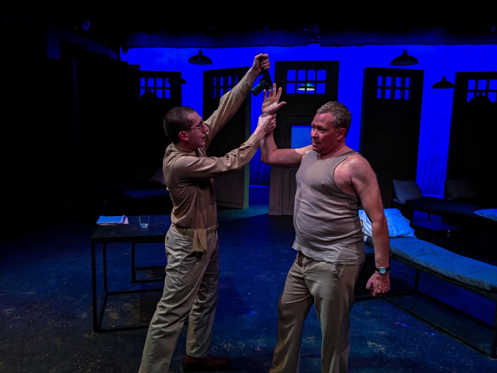 Biloxi Blues Serves Up A Satisfying Theatrical Dish At Augustana