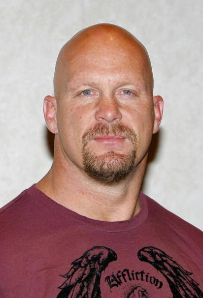 Stone Cold Steve Austin Is Out Of The Ring But Still In Front Of