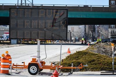 I-74 Bridge construction update