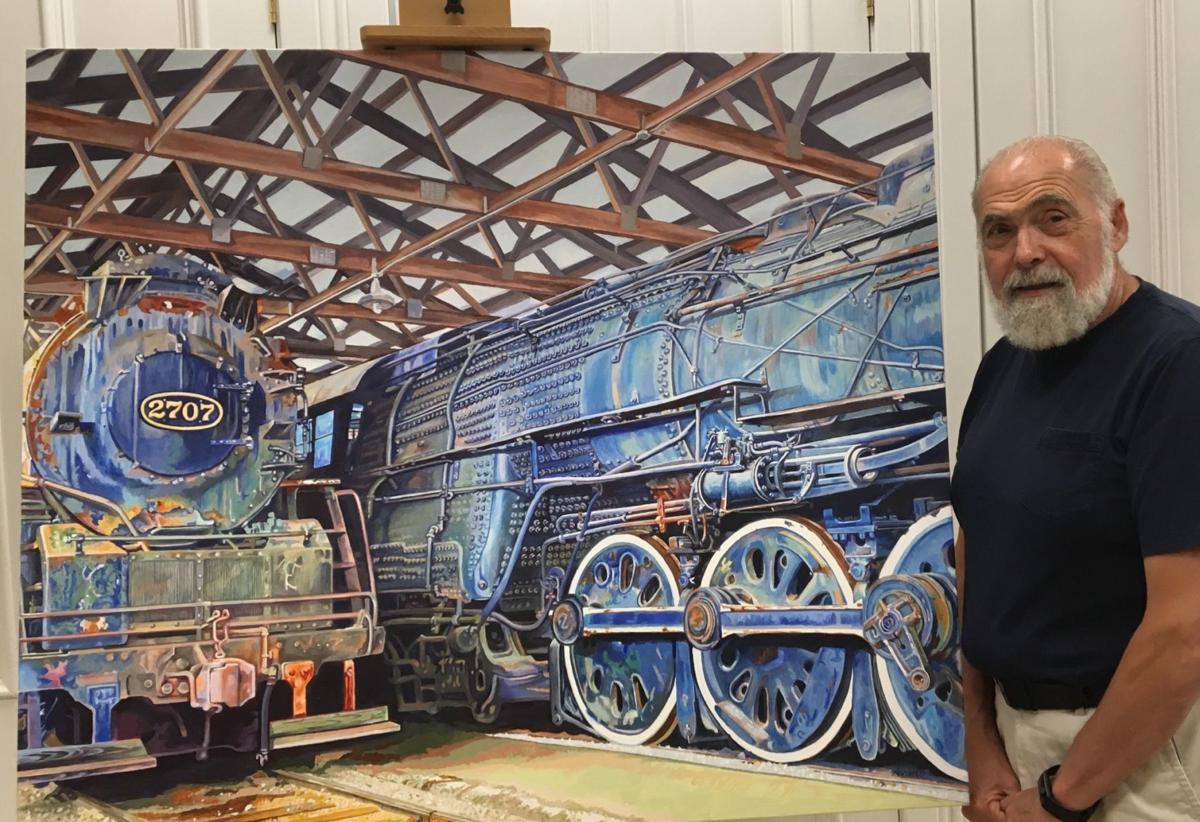 Exhibition of the paintings of Tony Abboreno