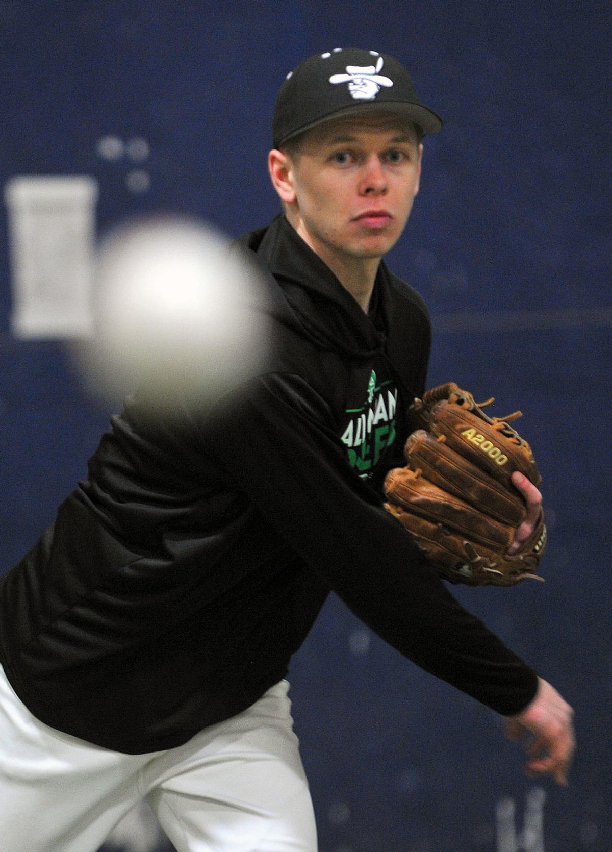 Alleman baseball player Sam Mattecheck