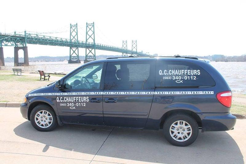 Q-C Chauffers van