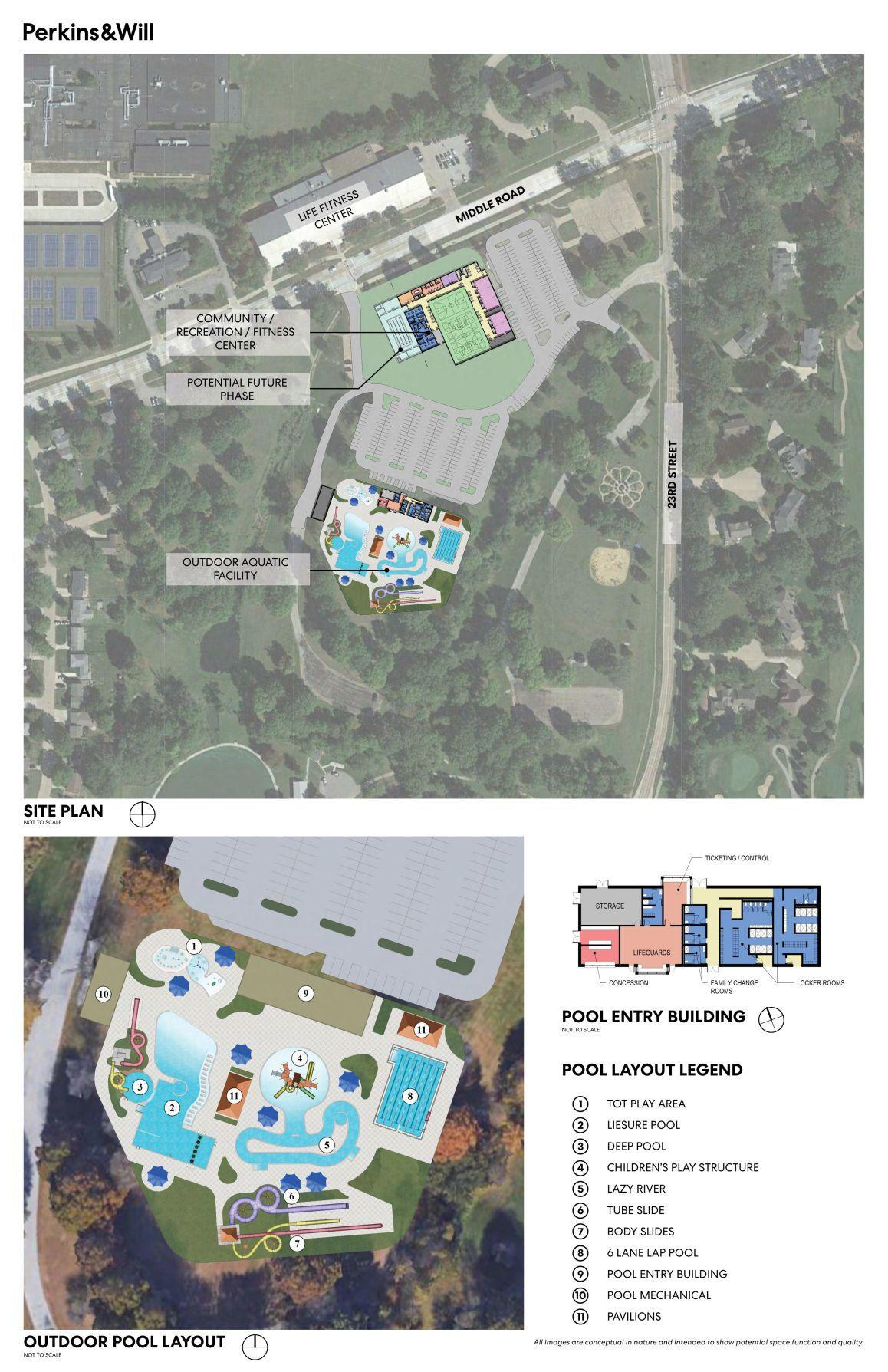 Bettendorf recreational center plans