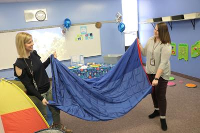 Winola school opens sensory room