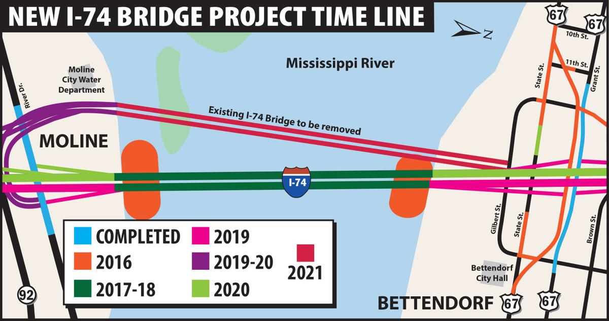 Building A Bridge: I-74 Project Moves Into Home Stretch | Local