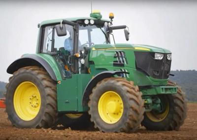 Being green: Deere developing first battery-powered tractor