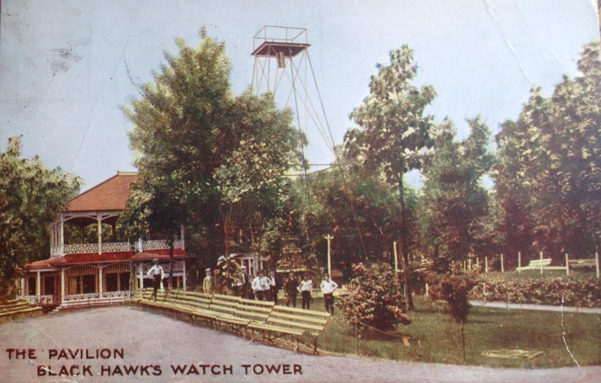 Watch Tower pavilion